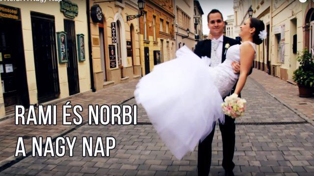 Rami és Norbi A Nagy Nap felirattal